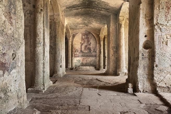 Matera - CHIESA RUPESTRE DI S. MARIA DELLA VAGLIA (o Valle)